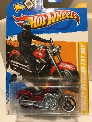 Hot Wheels Harley Davidson Fatboy Motorcycle for Sale in San Antonio, TX