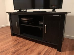 Black Tv Stand Media Console for Sale in West Los Angeles, CA