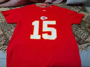 Patrick mahomes Chiefs Tee.. used for Sale in Dallas, TX