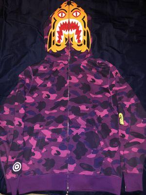 Bape Purple Tiger Hoodie for Sale in Sacramento, CA