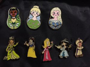 Disney Princess Pins $4 Each for Sale in Sunnyvale, CA