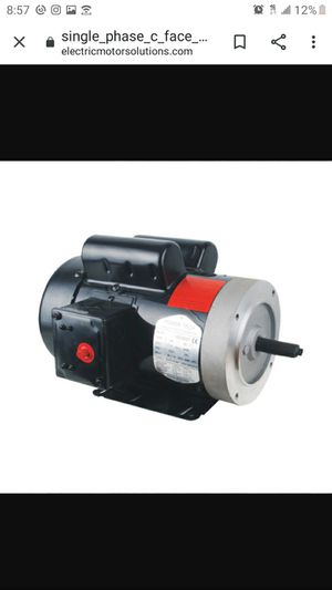 Single Phase C-Face Motor – U140256C for Sale in Ontario, CA