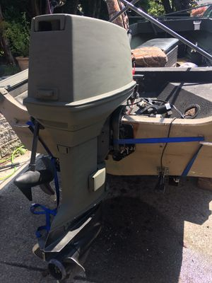 1993 Johnson 55hp commercial for Sale in Puyallup, WA