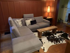 Sectional couch, new, light gray, EQ3 for Sale in San Francisco, CA