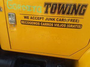 We accept junk Cars Free All the Bay Area aceptamos carros junk gratis toda el area de la bahia for Sale in Union City, CA
