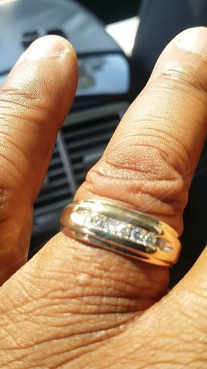 A little bit over 1/2 karat 14 solid gold nice wedding ring for Sale in Lakeland, FL