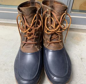 Men's Sperry Bean Boot for Sale in Washington, DC