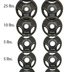 Brand New Olympic Weight Plates 35lbx2, 25lbx2, 10lb x2, 5lb x4, 2.5 lbx2 for Sale in West Covina, CA
