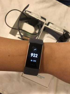 Fitbit charge 3 fitness activity tracker for Sale in Fresno, CA