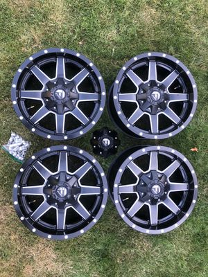 18 inch Fuel wheels for Sale in Graham, WA