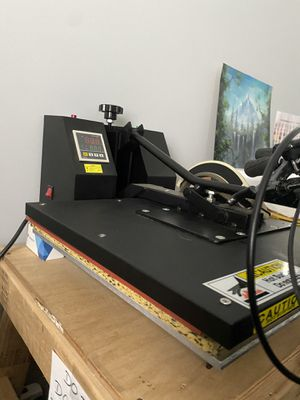 Heat press and printer for Sale in Annandale, VA
