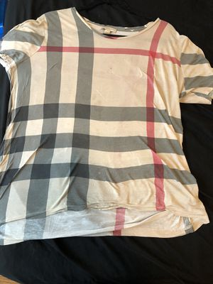 Women's Burberry Shirt for Sale in Chicago, IL