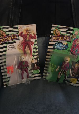 Beetlejuice action figures— Lot of FOUR for Sale in Los Angeles, CA