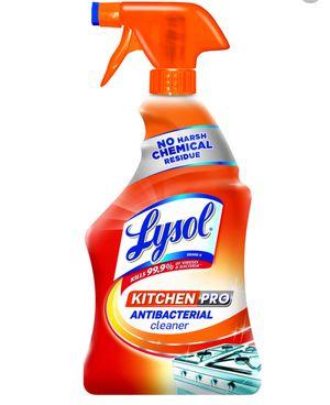 Lysol Kitchen Pro Antibacterial Cleaner for Sale in Santa Clarita, CA