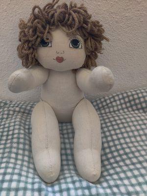 Handmade doll. for Sale in Jacksonville, NC