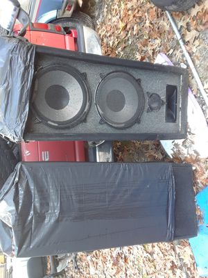 "Pair Dual 15"" Pro Audio PA / DJ Speaker Cabinets for Sale in New Caney, TX"