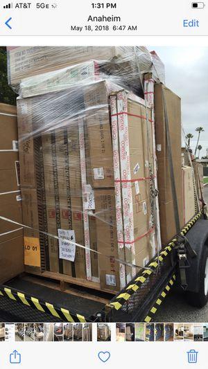 Trailer full diamond deck car hauler 7x14 for Sale in Anaheim, CA