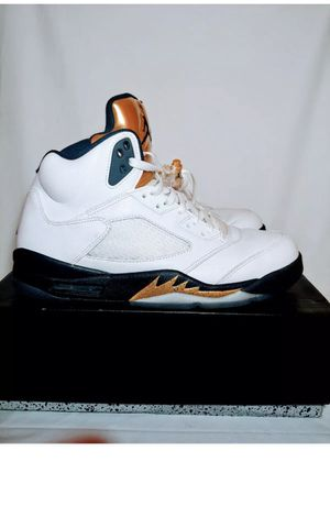 Used jordan retro 5 Olympic gold for Sale in Waterbury, CT