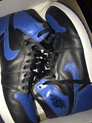 Jordan 1 royal size 9.5 for Sale in Stockton, CA
