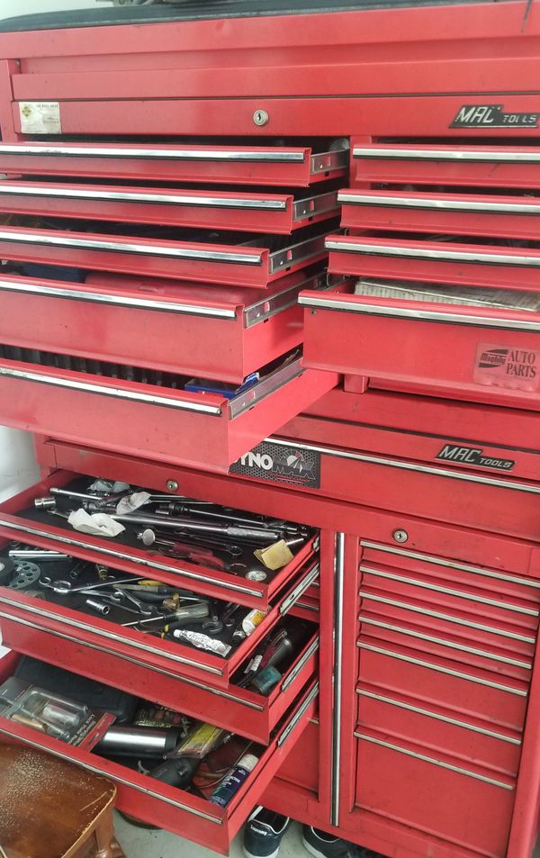 Mac tools and a good bike for sale