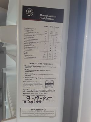 Upright Freezer for Sale in Warren Air Force Base, WY