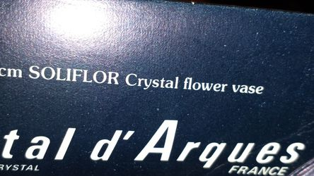 Vintage - FRANCE 24% Genuine Lead Crystal for Sale in Dixon,  CA