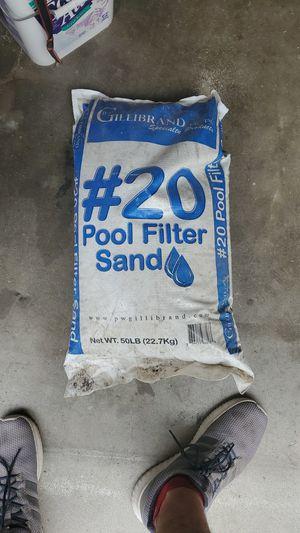 Pool filter sand for Sale in Norwalk, CA