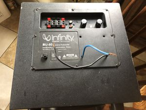 Infinity Speaker for Sale in Angier, NC
