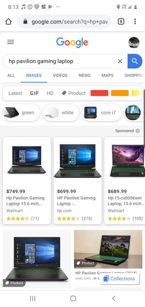 HP Pavilion gaming laptop for Sale in Colorado Springs, CO