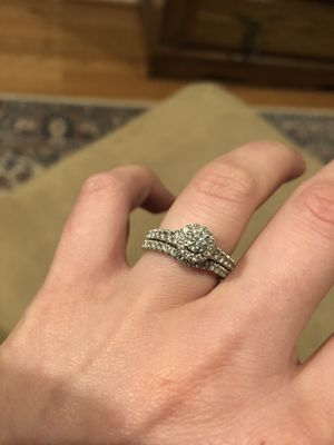 Colorless Diamond Engagement & Wedding Band for Sale in Mount Airy, MD