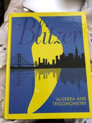 Algebra and Trigonometry (6th Edition) for Sale in Mount Rainier, MD
