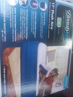 New in box never opened brand new air mattress with built in electric pump for Sale in Walkersville, MD