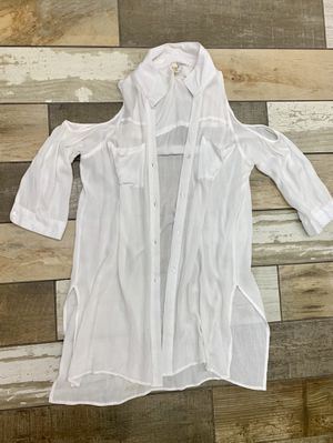 Cute white swimsuit cover , boutique style S/M for Sale in Littleton, CO