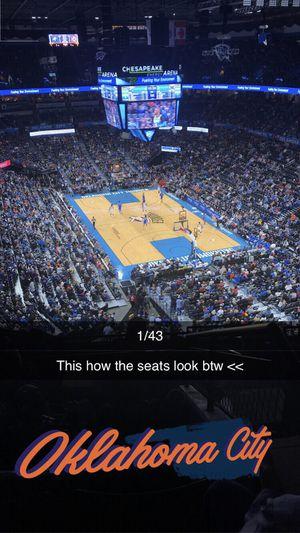 2 tickets, OKC Vs Lakers, Portland Trailblazers, Cleveland Cavaliers for Sale in Oklahoma City, OK