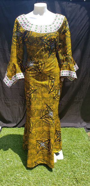 Plus size 14 african dress ,new for Sale in Durham, NC