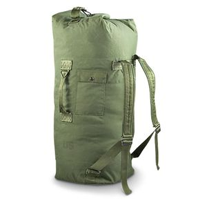 New Duffle bag military army green heavy duty sports travel camping for Sale in New York, NY