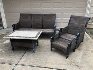 4 pc outdoor furniture set for Sale in Cypress, TX
