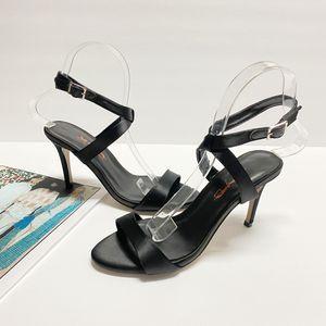 size 6 XYD Women Peep Toe Ankle Wrap Stiletto Heel Pumps Sandals for Sale in Las Vegas, NV
