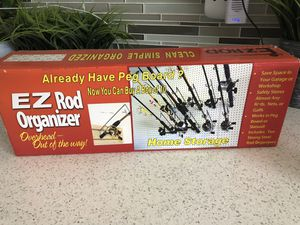 New fishing rod organizer for Sale in Los Angeles, CA