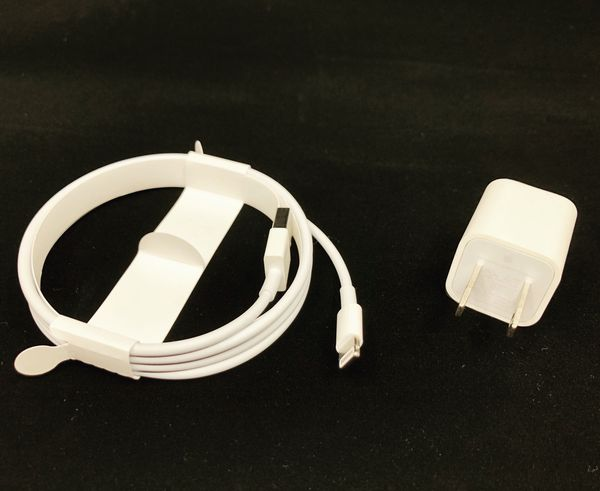 New Apple USB Power Adapter and USB to Lightning Cable
