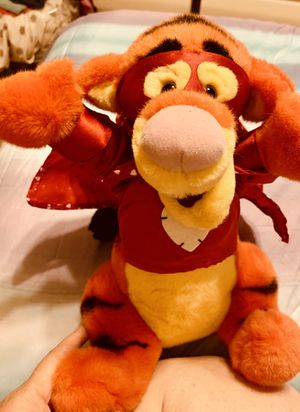 """Valentine Tigger"" Plush- Disney Winnie the Pooh- Wearing Hearts Cape for Sale in Columbus, OH"