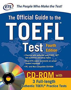 The official guide to the TOEFL test book for Sale in Fayetteville, AR