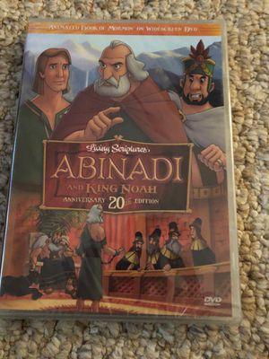 Abinadi and King Noah Cartoon DVD for Sale in Raleigh, NC