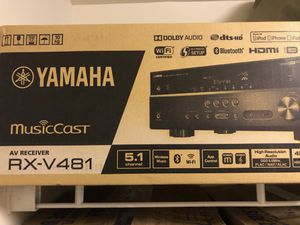 Brand new Yamaha RXV481 Amplifier for Sale in Washington, DC