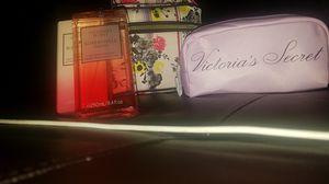 Victoria's Secret, perfume mist, lotion, train bags for Sale in Selma, CA