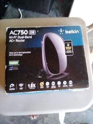 Belkin AC750 DB Wi-Fi Dual -Band AC+Router for Sale in Fresno, CA
