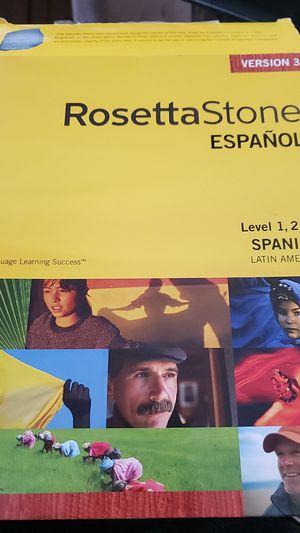 Rosetta Stone Version 3: Soanish 1-3 for Sale in San Francisco, CA