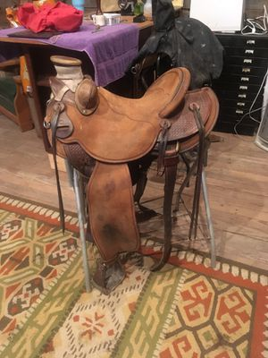 Steve Mecum saddle maker in Wyoming for Sale in Staunton, VA