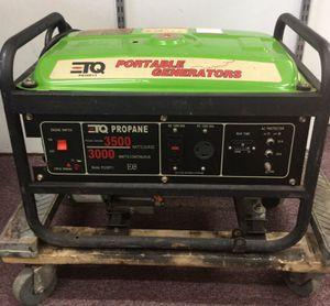TQ PG30P11 3000W Propane Generator **AS IS** (17-1723) for Sale in Beltsville, MD