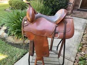 TexTan Saddle + All Tack for Sale in Tomball, TX